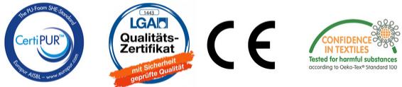 Certificatie van onze topdekmatrassen