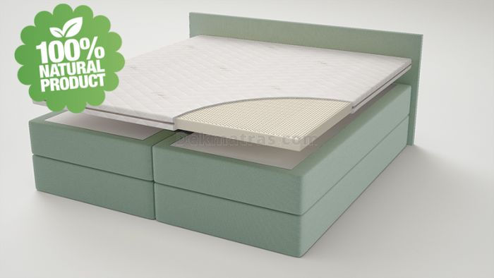Talalay Latex dekmatrassen